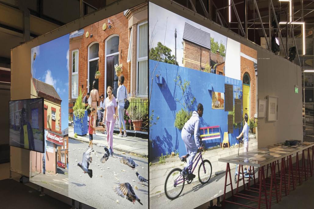 """Leuchtkasten Ausstellung """"Living the City"""" Berlin Kunde: MWB GmbH"""